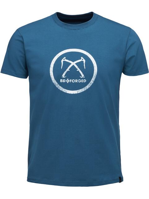 Black Diamond Forged - T-shirt manches courtes Homme - bleu